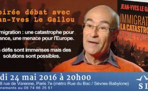 Jean-Yves Le Gallou invité du Siel