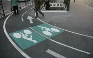 La «super piste à vélos» de Bastille bientôt en service