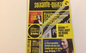 « Soixante-quinze » : un magazine pour les curieux de Paris