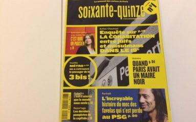 «Soixante-quinze»: un magazine pour les curieux de Paris