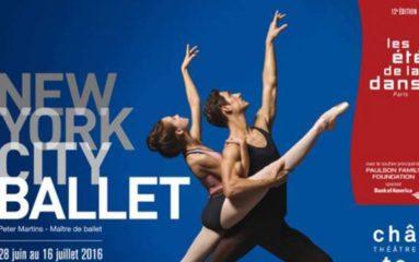 Le New York City Ballet s'installe au Châtelet