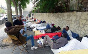 Nouveau campement sauvage de migrants dans le 18e