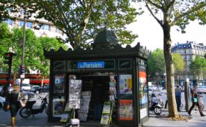 En savoir plus sur les kiosques à Paris