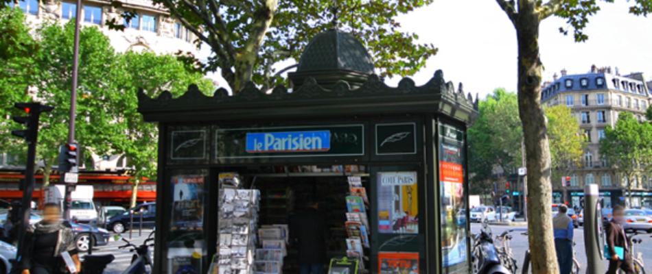 Début du déploiement des nouveaux kiosques à journaux