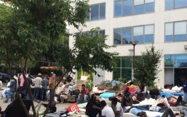 Halle Pajol: nouvel affrontement entre immigrés clandestins