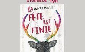 Olivier Maulin débarque à la librairie du 104