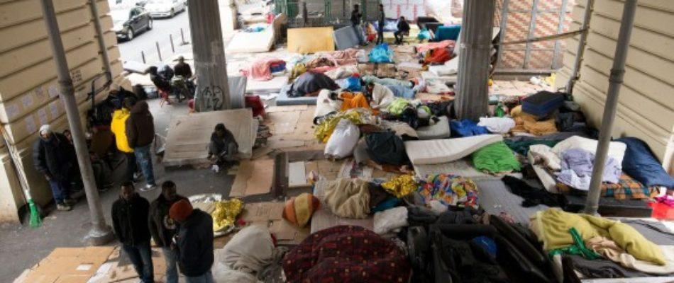 La Villette: un nouveau camp sauvage de migrants évacué