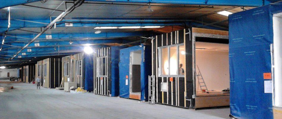 Une entreprise vendéenne pour la construction du centre d'hébergement du 16e arrondissement