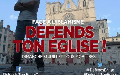 «Défends ton église!» appelle à la mobilisation