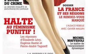 «Halte au féminisme punitif!»: nouveau numéro de la revue Eléments
