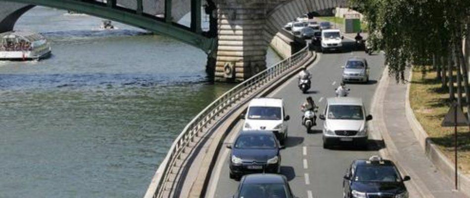 IDF: la Région s'oppose à la fermeture des voies sur berges
