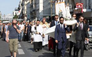 Sainte-Rita: plus de 500 personnes pour la procession du 15 août