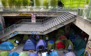 Migrants: trois nouveaux camps sauvages évacués