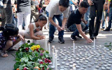 Aubervilliers: nouveau rassemblement de la communauté chinoise