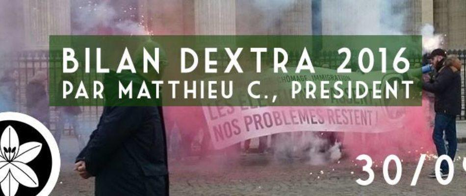 C'est la rentrée pour Dextra ! – MAJ –