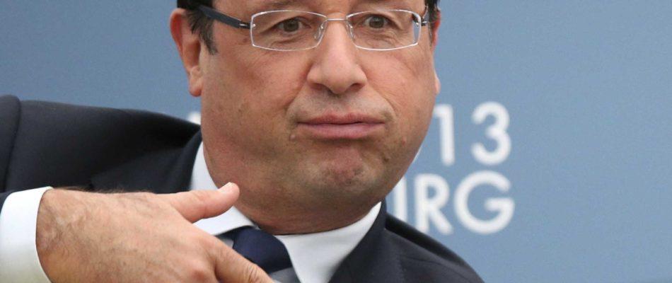 Ne riez pas: Hollande «homme d'état mondial de l'année»
