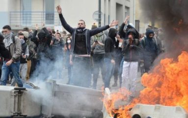 Manifestation anti-loi Travail: un militant SUD perd l'usage d'un œil