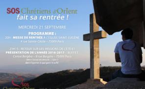 SOS Chrétiens d'Orient fait sa rentrée
