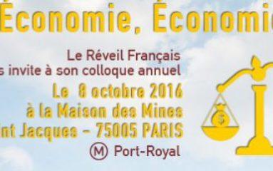 Colloque du « Réveil Français » : culture de l'économie et économie de la culture