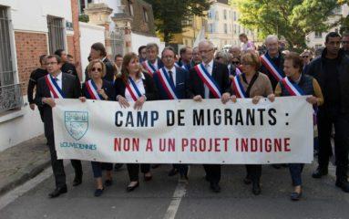 Louveciennes: nouvelle mobilisation contre l'installation de migrants