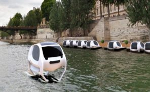 Tests des Sea Bubbles sur la Seine