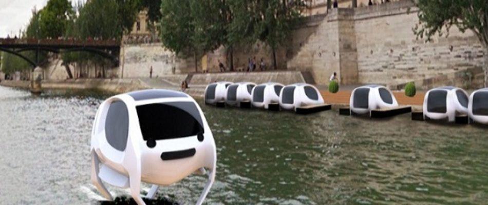 Bientôt des «taxis volants» sur la Seine?