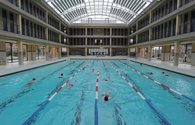 Temp rature des piscines municipales la mairie de paris for Piscine sans chlore paris