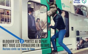 Contravention dans les couloirs du métro: quelles priorités?