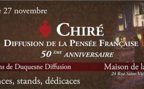 Grosse affluence à la fête du livre des éditions de Chiré