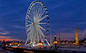 Hidalgo souhaite faire disparaître la grande roue de la Concorde