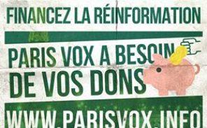 Paris Vox, la vidéo choc que vous avez peut-être loupée!