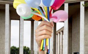 Jeff Koons s'offre une nouvelle publicité géante