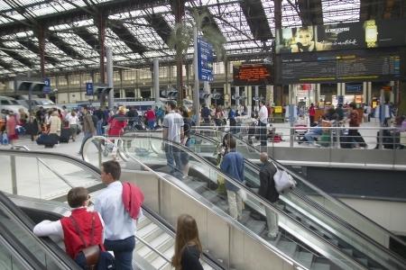 Le premier robot poubelle entre en gare de Lyon