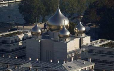 Consécration de la cathédrale orthodoxe de Paris