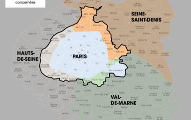 Circulation alternée à Paris et dans 22 communes proches mardi 6 décembre
