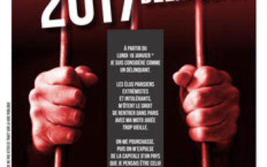 Lundi 16 janvier: manifestation contre l'interdiction des deux-roues à moteur