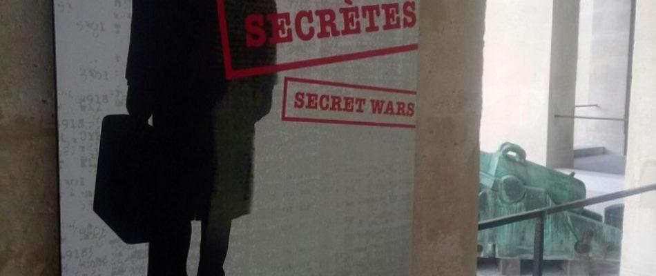 Paris, musées et expos: «Guerres secrètes»