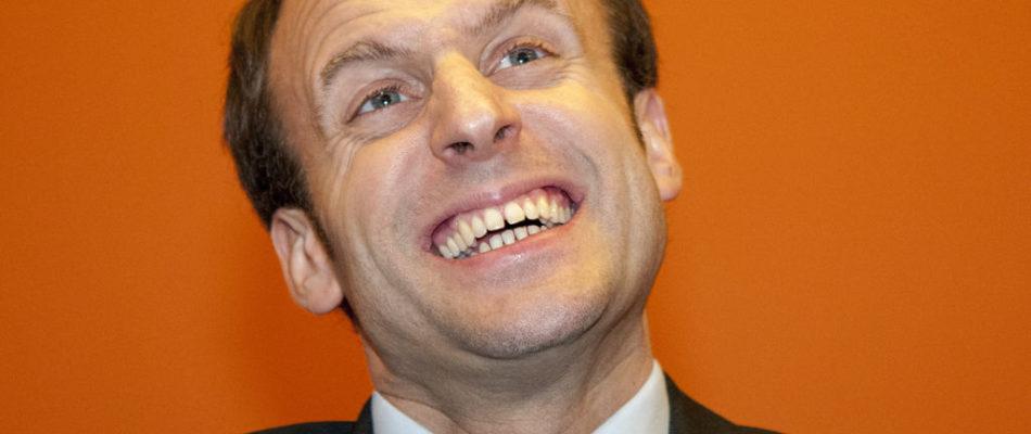 Macron : Premières prêches …