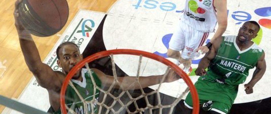 Basket: Nanterre valide son billet pour la «Leader's cup»