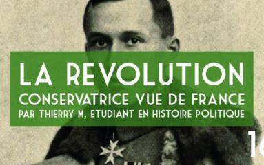 Conférence: «La révolution conservatrice vue de France»