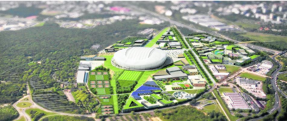 Grand stade de rugby de Ris-Oranigs: la fédération arrête les frais.