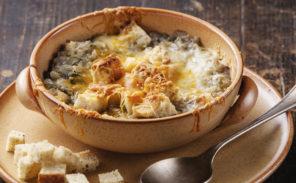 La recette francilienne de décembre: la soupe à l'oignon