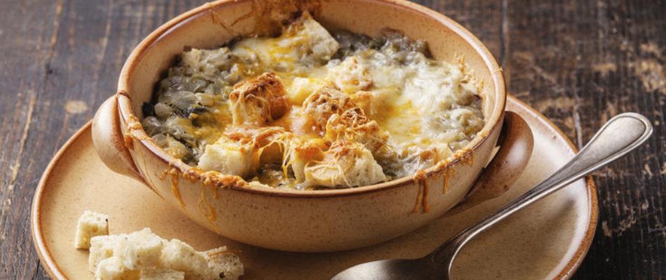 La recette francilienne de décembre : la soupe à l'oignon