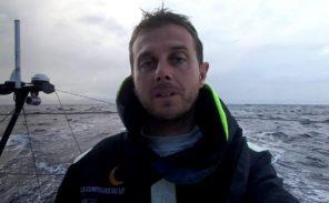 Vendée Globe: fin de course pour Stéphane Le Diraison