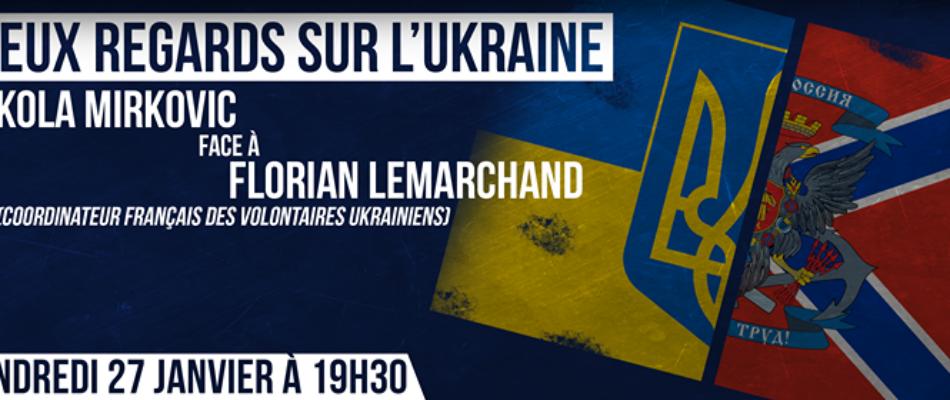 Deux regards sur l'Ukraine: l'enregistrement audio du débat