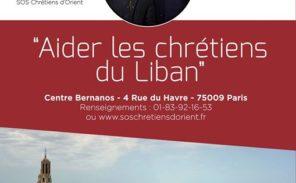 Conférence: Aider les Chrétiens du Liban