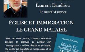 Conférence: «Église et immigration – Le grand malaise»