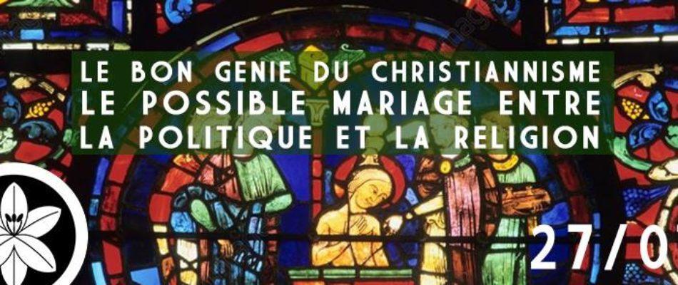Conférence: «La possible conciliation entre religion et politique»
