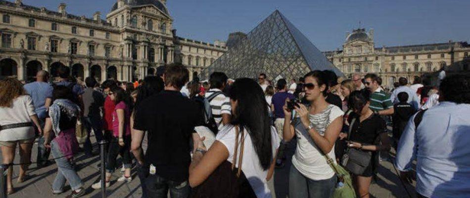 Augmentation du tourisme à Paris en 2017