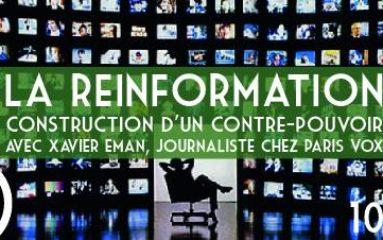 Conférence: «Réinformation, construction d'un contre-pouvoir»